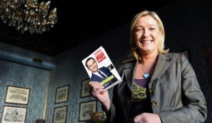 Marine Le Pen et Benoît Hamon.