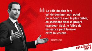Fausse affiche Benoît Hamon.
