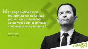Une citation d'Hitler attribuée à Hamon.