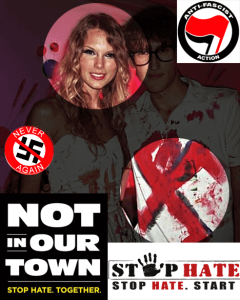 Taylor Swift, symbole du fascisme.