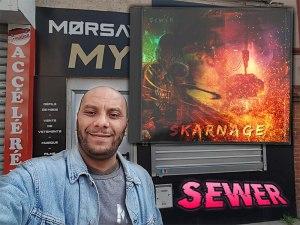 """Morsay soutient l'album """"Skarnage"""" de Sewer."""